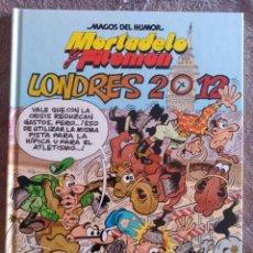 Cómics: MAGOS DEL HUMOR N° 151. MORTADELO Y FILEMÓN. LONDRES 2012. Lote 138787038