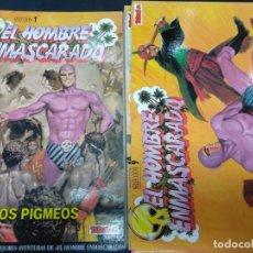 Cómics: EL HOMBRE ENMASCARADO COMPLETA TEBEOS S.A. 19 TOMOS TAPA BLANDA. Lote 138794258
