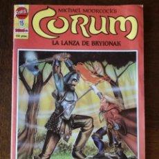 Cómics: CÓMIC CORUM-Nº 15-LA LANZA DE BRYIONAK-FIRST COMICS-EDICIONES B-1987 NUEVO. Lote 139146610