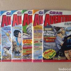 Cómics: LOTE GRAN AVENTURERO (DRAGONS COMICS / EDICIONES B / TEBEOS S.A.). NÚMEROS 1-2-3-4-5-6-7-8-10-12. Lote 139177564