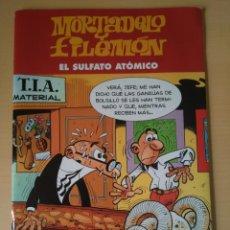 Cómics: MORTADELO Y FILEMON. EL SULFATO ATOMICO. EDICIONES B. Lote 139306170
