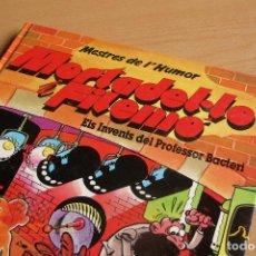 Comics - Mortadel·lo i Filemó - Els invents del professor Bacteri - Mestres de l'humor 15 - 1era Edició 1990 - 139316214