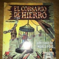 Cómics: EL CORSARIO DE HIERRO EL TESORO DE MARCO POLO NÚMERO 6. Lote 139593049