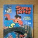 Cómics: SUPER LOPEZ OLÉ! Nº 16 LOS CERDITOS DE CAMPRODÓN EDICIONES B JAN. Lote 160410956