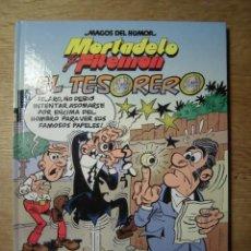 Cómics: MORTADELO Y FILEMÓN EL TESORERO MAGOS DEL HUMOR EDICIONES B. Lote 139908114