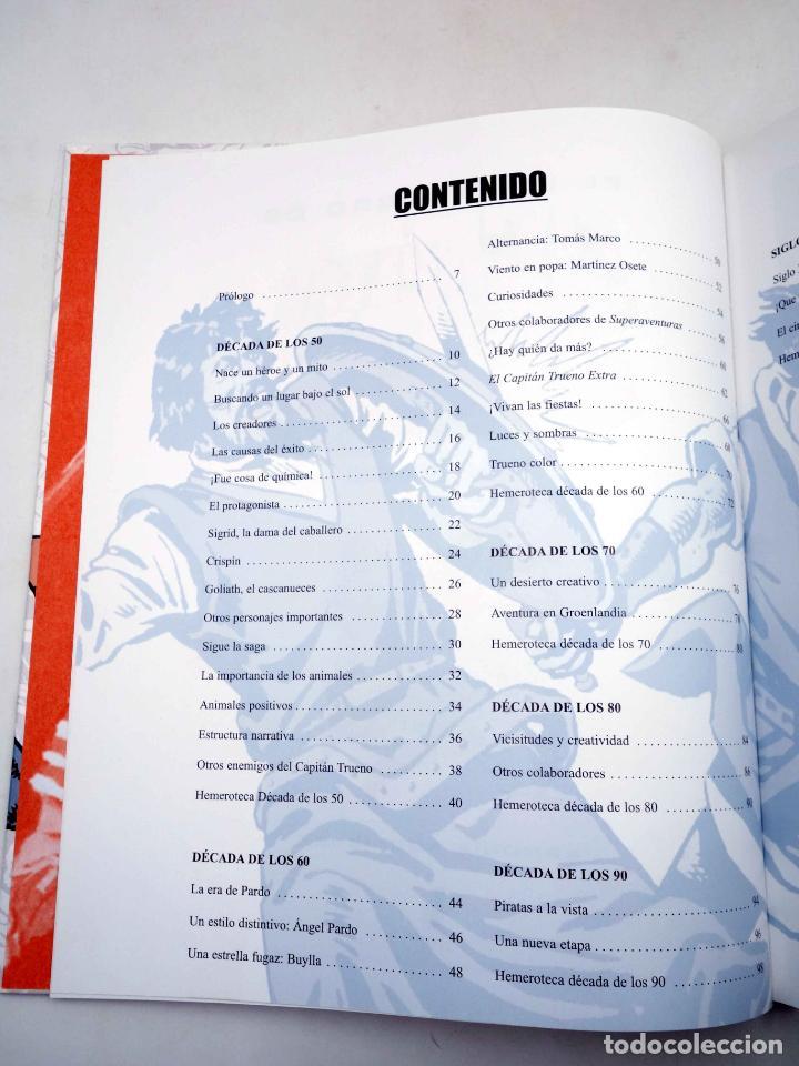 Comics: EL GRAN LIBRO DE EL CAPITÁN TRUENO. 50º ANIVERSARIO (Armonía Rodríguez) Ediciones B, 2006. OFRT - Foto 3 - 152018245