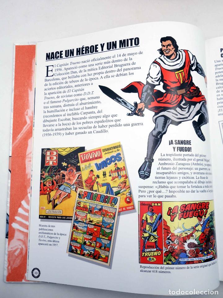 Comics: EL GRAN LIBRO DE EL CAPITÁN TRUENO. 50º ANIVERSARIO (Armonía Rodríguez) Ediciones B, 2006. OFRT - Foto 5 - 152018245