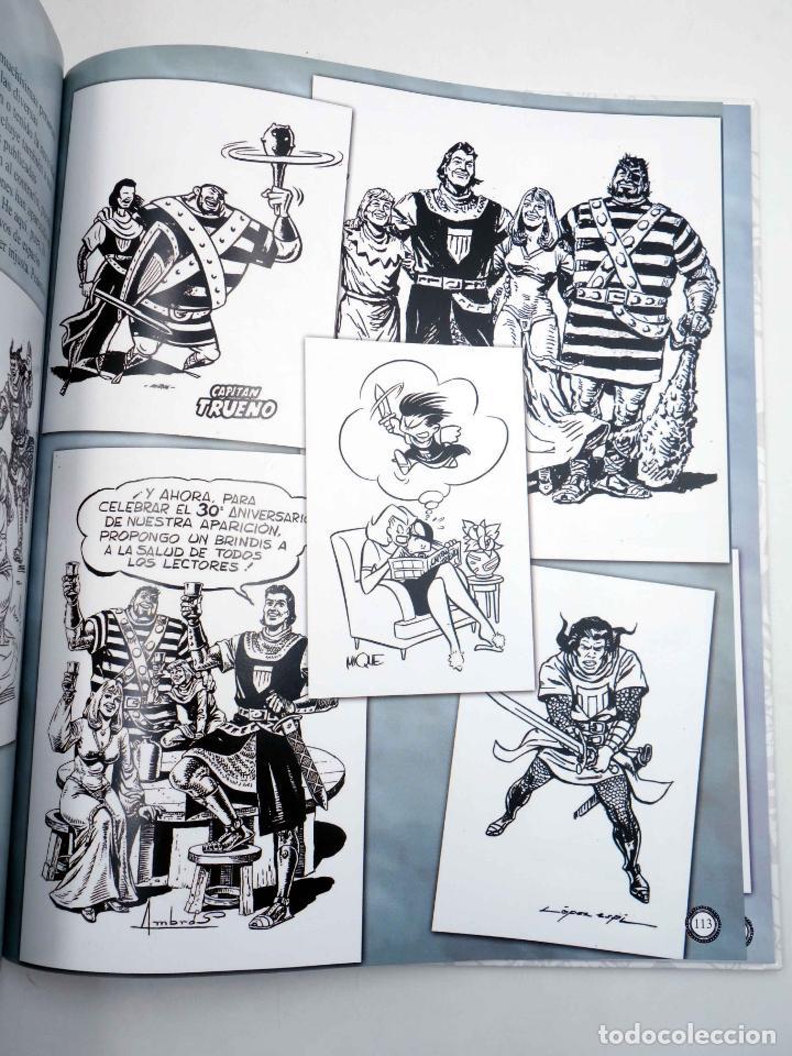 Comics: EL GRAN LIBRO DE EL CAPITÁN TRUENO. 50º ANIVERSARIO (Armonía Rodríguez) Ediciones B, 2006. OFRT - Foto 9 - 152018245