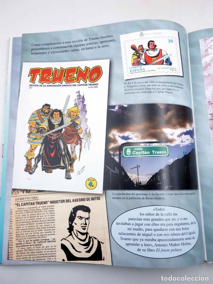 Comics: EL GRAN LIBRO DE EL CAPITÁN TRUENO. 50º ANIVERSARIO (Armonía Rodríguez) Ediciones B, 2006. OFRT - Foto 12 - 152018245