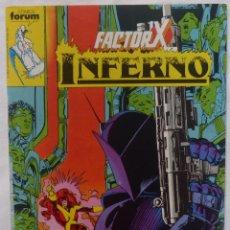 Cómics: COMIC FACTOR X-INFERNO,COMICS FORUM,1989,MARVEL, STAN LEE, NUMERO 4. Lote 140242042