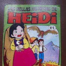 Cómics: LAS BELLAS HISTORIAS DE HEIDI Nº 6. Lote 140596422