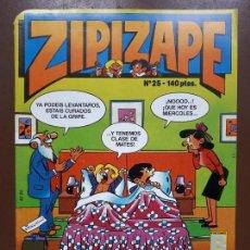Cómics: ZIPI Y ZAPE Nº25 - EDICIONES B - 1987. Lote 141149570