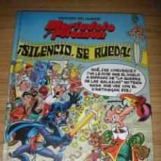 Cómics: MORTADELO Y FILEMÓN - ¡SILENCIO SE RUEDA! (GRANDES DEL HUMOR Nº 8) EDICIONES B. Lote 141775138