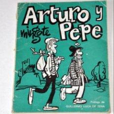 Cómics: HUMOR. ARTURO Y PEPE. DE ANTONIO MINGOTE.. 1º EDICIÓN. MAYO 1971. Lote 142099726