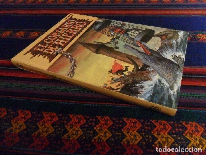 Cómics: EL CORSARIO DE HIERRO TOMO TOMOS 1 Y 6 EDICIÓN HISTÓRICA. EDICIONES B AÑOS 90. TAPA DURA. RAROS. - Foto 2 - 135385874