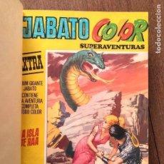 Cómics: TOMO JABATO COLOR. Lote 142399978