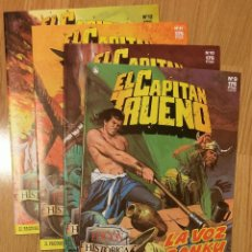 Cómics: EL CAPITÁN TRUENO EDICIÓN HISTÓRICA LOTE DE 4 Nº 9-10-11-12 EDICIONES B. Lote 142934810