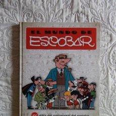 Cómics: EL MUNDO DE ESCOBAR. Lote 142957110