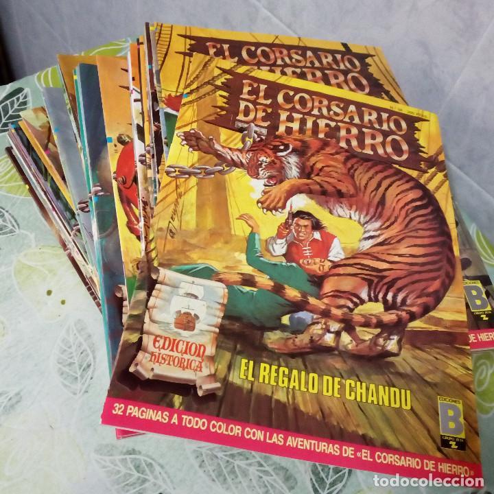 EL CORSARIO DE HIERRO. EDICIÓN HISTÓRICA, COMPLETA. (Tebeos y Comics - Ediciones B - Clásicos Españoles)