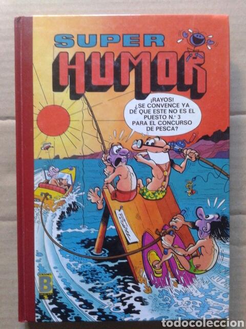 SÚPER HUMOR, VOLUMEN 57 (EDICIONES B, 1990). CON MORTADELO, ROMPETECHOS, ZIPI Y ZAPE Y CARPANTA (Tebeos y Comics - Ediciones B - Humor)