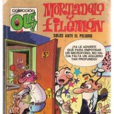 Cómics: OLÉ. MORTADELO Y FILEMÓN. Nº 121 - M12. EDICIONES B. 5ª EDC. 1987(C/A36). Lote 143170506