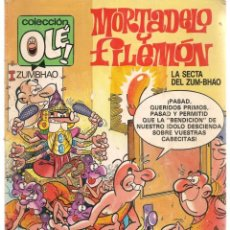 Cómics: OLÉ. MORTADELO Y FILEMÓN. Nº 315 - M41. EDICIONES B. 2ª EDC. 1987(C/A36). Lote 143170674