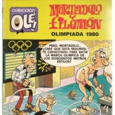 Cómics: OLÉ. MORTADELO Y FILEMÓN. Nº 195. M85. EDICIONES B. 1ª EDC. 1988. (C/A36). Lote 143171142
