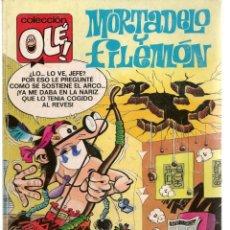 Cómics: OLÉ. MORTADELO Y FILEMÓN. Nº 340. M.109. EDICIONES B. 1ª EDC. 1988. (C/A36). Lote 143171498