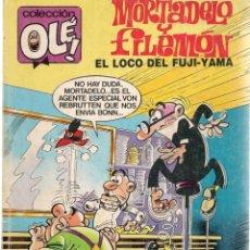 Cómics: OLÉ. MORTADELO Y FILEMÓN. Nº 294. M.150. EDICIONES B. 1ª EDC. 1988. (C/A36). Lote 143171758