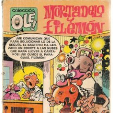 Cómics: OLÉ. MORTADELO Y FILEMÓN. Nº 216. M.130. EDICIONES B. 1ª EDC. 1989. (C/A36). Lote 143171930