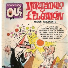 Cómics: OLÉ. MORTADELO Y FILEMÓN. Nº 148. M.112. EDICIONES B. 1ª EDC. 1989. (C/A36). Lote 143172550