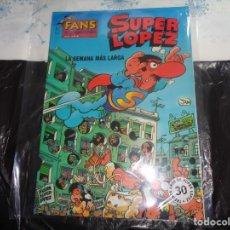 Comics : SUPER LÓPEZ Nº 6 LA SEMANA MÁS LARGA JAN EDICIONES B.. Lote 143187498