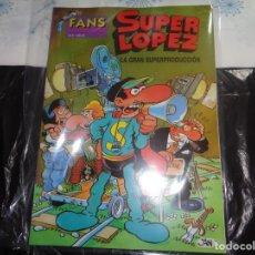 Cómics: SUPER LÓPEZ Nº 9 LA GRAN SUPERPRODUCCIÓN JAN EDICIONES B.. Lote 143187978