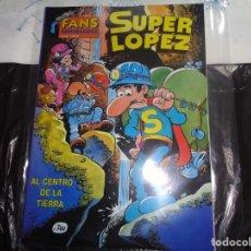 Cómics: SUPER LÓPEZ Nº 10 AL CENTRO DE LA TIERRA JAN EDICIONES B. Lote 143188306