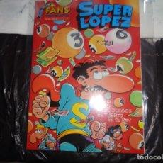 Cómics: SUPER LÓPEZ Nº 12 EN EL PAIS DE LOS JUEGOS EL TUERTO ES EL REY JAN EDICIONES B . Lote 143188754