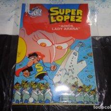 Cómics: SUPER LÓPEZ Nº 36 ADIOS LADY ARAÑA JAN EDICIONES B. Lote 143189038