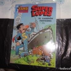 Cómics: SUPER LÓPEZ Nº 38 EL CASERÓN FANTASMA JAN EDICIONES B. Lote 143190098
