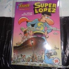 Cómics: SUPER LÓPEZ Nº 40 EL GRAN BOTELLÓN JAN EDICIONES B. Lote 143190898