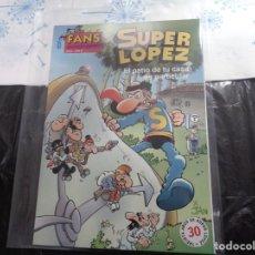 Cómics: SUPER LÓPEZ Nº 41 EL PATIO DE TU CASA ES PARTICULAR JAN EDICIONES B. Lote 143191314