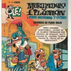 Fumetti: OLÉ!. MORTADELO Y FILEMÓN. Nº 112. EDICIONES B. 3ª EDC. 2003. (ST/HS). Lote 143199754
