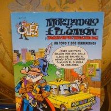 Cómics: OLÉ! Nº 117: MORTADELO Y FILEMÓN Y ROMPETECHOS. UN TOPO Y DOS BERBERECHOS.. Lote 143275830