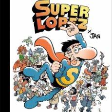 Cómics: EL GRAN LIBRO DE SUPERLOPEZ JAN . Lote 143321466