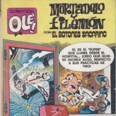 Cómics: MORTADELO Y FILEMON - EDICIONES B - OLE Nº M 260. Lote 143592854