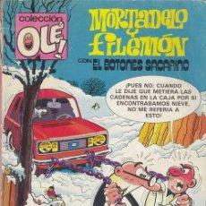 Cómics: MORTADELO Y FILEMON - EDICIONES B - OLE Nº 238 M31. Lote 143596750