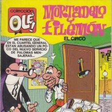 Cómics: MORTADELO Y FILEMON - EDICIONES B - OLE Nº 105 M 61. Lote 143597030