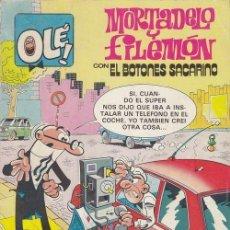 Cómics: MORTADELO Y FILEMON CON EL BOTONES SACARINO - EDICIONES B - OLE 248 M39. Lote 143597374