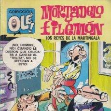 Cómics: MORTADELO Y FILEMON - EDICIONES B - OLE 163 M.92. Lote 143597454