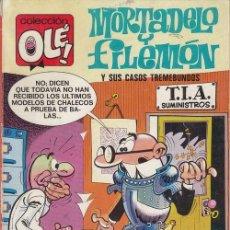 Cómics: MORTADELO Y FILEMON - EDICIONES B - OLE 119 M6. Lote 143597602