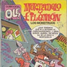 Cómics: MORTADELO Y FILEMON - EDICIONES B - OLE 103 M 59. Lote 143597686