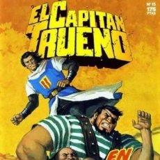 Comics : EL CAPITAN TRUENO Nº 15 EDICION HISTORICA - EDICIONES B. Lote 144514942